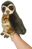Morepork Puppet With Sound (30cm)
