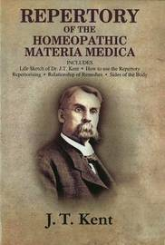 Repertory of the Homeopathic Materia Medica by J.T. Kent image