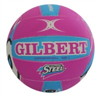 Gilbert ANZ Premiership Steel Supporter (Size 5)