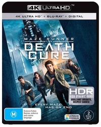 Maze Runner: The Death Cure on UHD Blu-ray