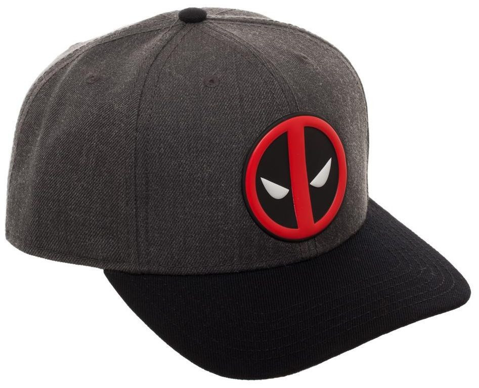 Marvel: Deadpool Logo - Curved Snapback Cap image