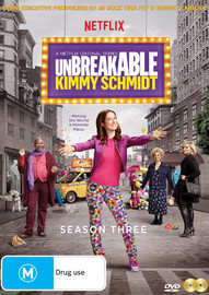The Unbreakable Kimmy Schmidt Season Three on DVD