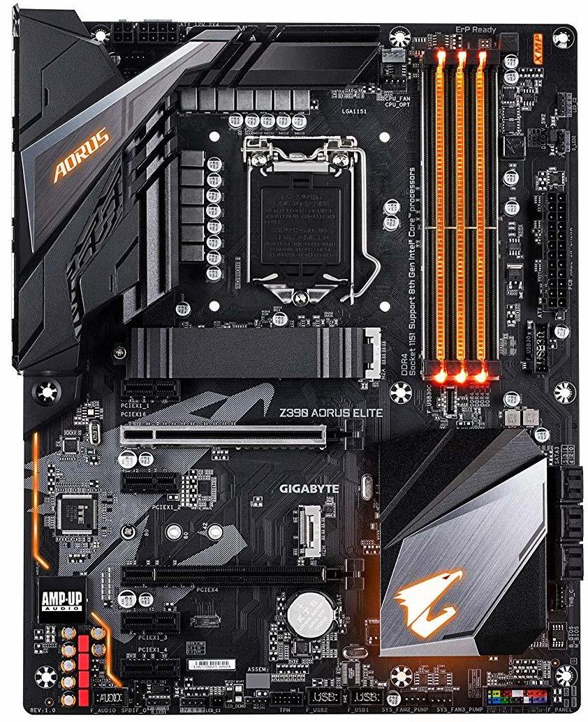 Gigabyte Z390 Aorus Elite Motherboard image