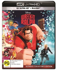 Wreck-It Ralph on Blu-ray, UHD Blu-ray