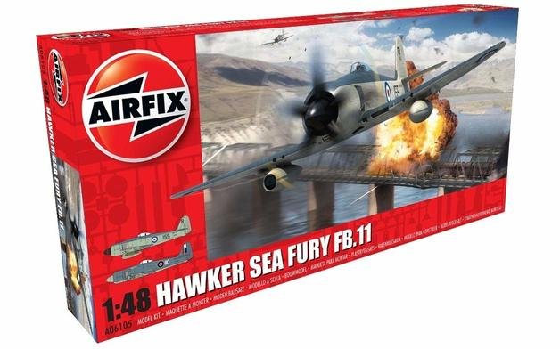 Airfix Hawker Sea Fury FB.II 1:48 - Model Kit