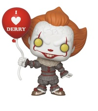 IT: Chapter 2 - Pennywise (with Balloon) Pop! Vinyl Figure image