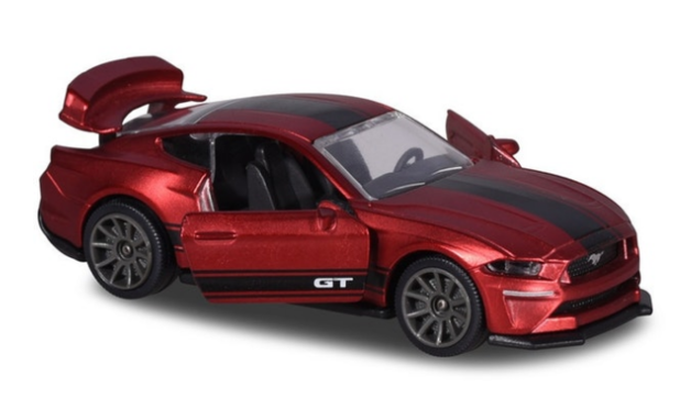 Majorette: Ford Mustang GT (Deluxe) - 1:64 Scale Diecast Vehicle