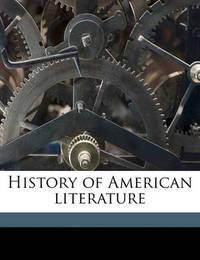 History of American Literature by Reuben Post Halleck