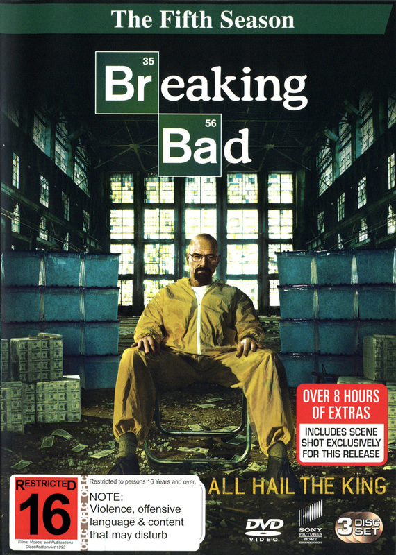 Breaking Bad Season 5 | DVD | On Sale Now | at Mighty Ape NZ