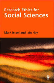 Research Ethics for Social Scientists by Mark Israel image