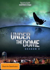Under the Dome - Season 3 on DVD