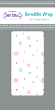 Silly Billyz Muslin Swaddle Wrap Single (Blossom)