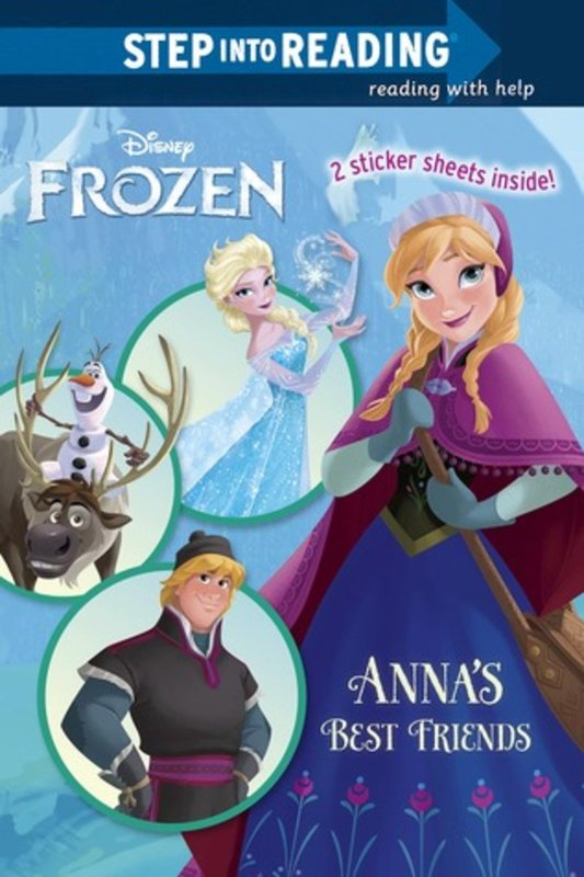 Frozen: Anna's Best Friends by Christy Webster