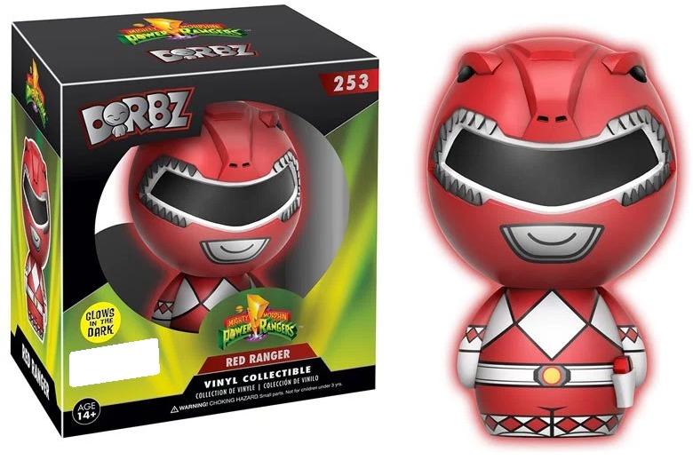 Power Rangers - Red Ranger (Glow) Dorbz Vinyl Figure image
