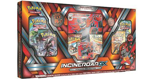 Pokemon TCG GX Premium Collection: Incineroar