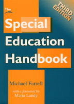 The Special Education Handbook by Michael Farrell image