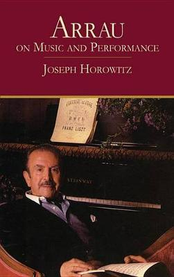 Arrau on Music and Performance by Horowitz image