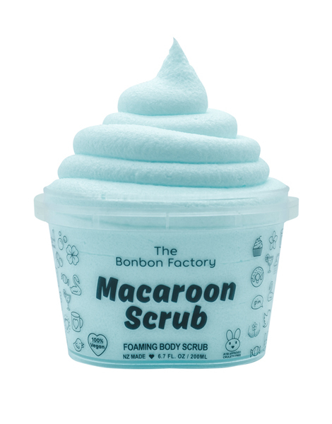 The Bonbon Factory Body Scrub - Lollie Mix Macaroon (200ml)