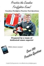 Practice the Canadian Firefighter! by Complete Test Preparation Inc image
