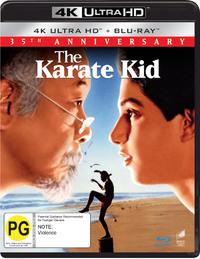 The Karate Kid (1984) on UHD Blu-ray