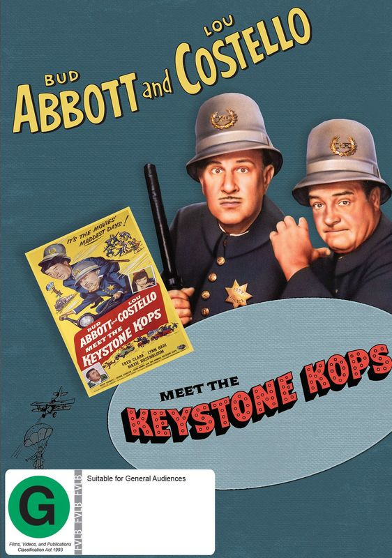Abbott And Costello Meet The Keystone Kops on DVD