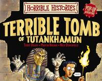 Terrible Tomb of Tutankhamun Pop-up Adventure by Terry Deary image