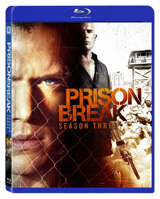 Prison Break - The Complete Third Season on Blu-ray