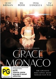 Grace of Monaco on DVD