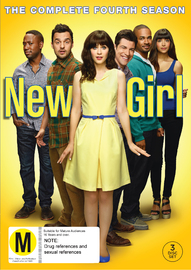 New Girl - The Complete Fourth Season DVD