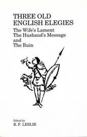 Three Old English Elegies image