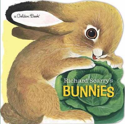 Richard Scarry's Bunnies Board Book by Richard Scarry image