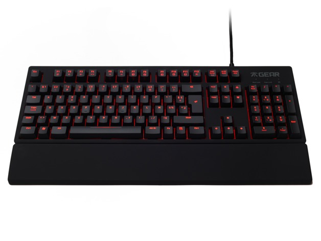 Fnatic Rush Pro Gaming Keyboard - Cherry MX Blue for PC Games