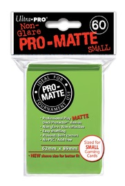 Ultra Pro: Deck Protectors Pro-Matte Small Lime Green (60)