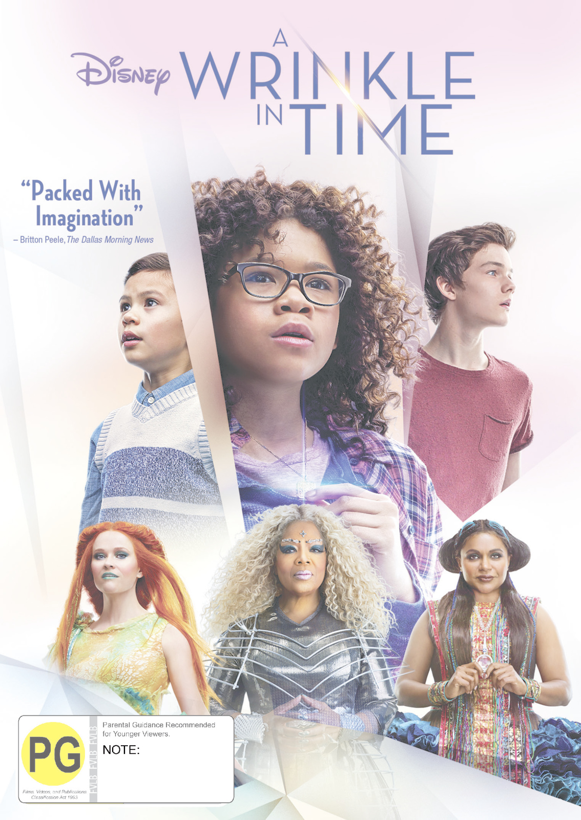 A Wrinkle In Time on DVD image