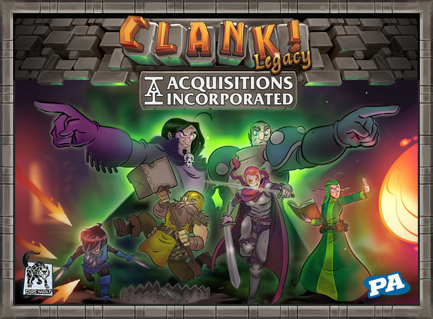 Clank! Legacy: Acquisitions Incorporated - Board Game
