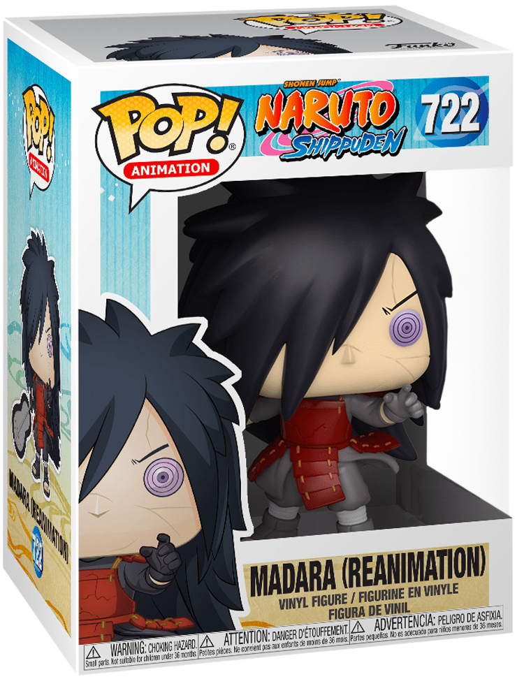 Naruto - Madara (Reanimation) Pop! Vinyl Figure image