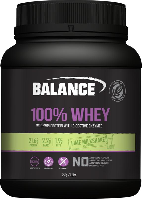 Balance 100% Whey - Lime Milkshake (750g)