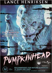 Pumpkinhead on DVD