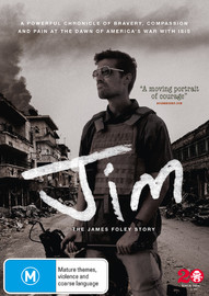 Jim: The James Foley Story on DVD
