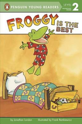 Froggy Is The Best by Bonnie Bader image