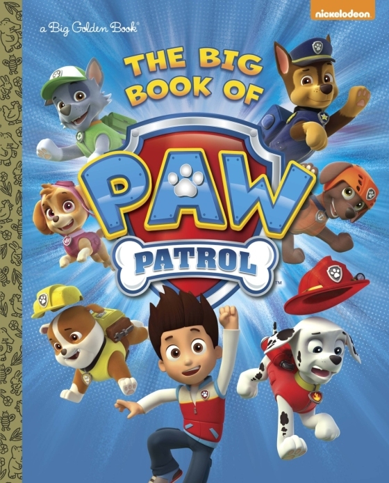 The Big Book of Paw Patrol by Golden Books image