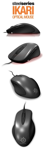 SteelSeries Ikari Optical Professional Gaming Mice image