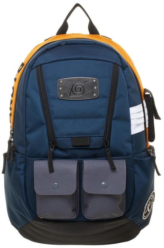 Naruto Navy & Orange Backpack