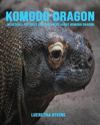 Komodo dragon by Lueretha Atkins