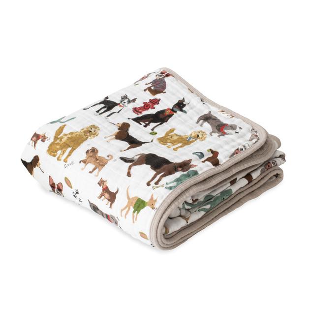Little Unicorn: Cotton Muslin Quilt - Woof