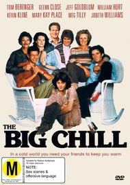 The Big Chill on DVD