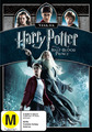 Harry Potter and The Half-Blood Prince on DVD