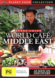 Bobby Chinn - World Café: Middle East (Planet Food Collection) on DVD