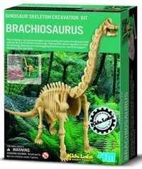 4M: Excavation Kits - Brachiosaurus Skeleton