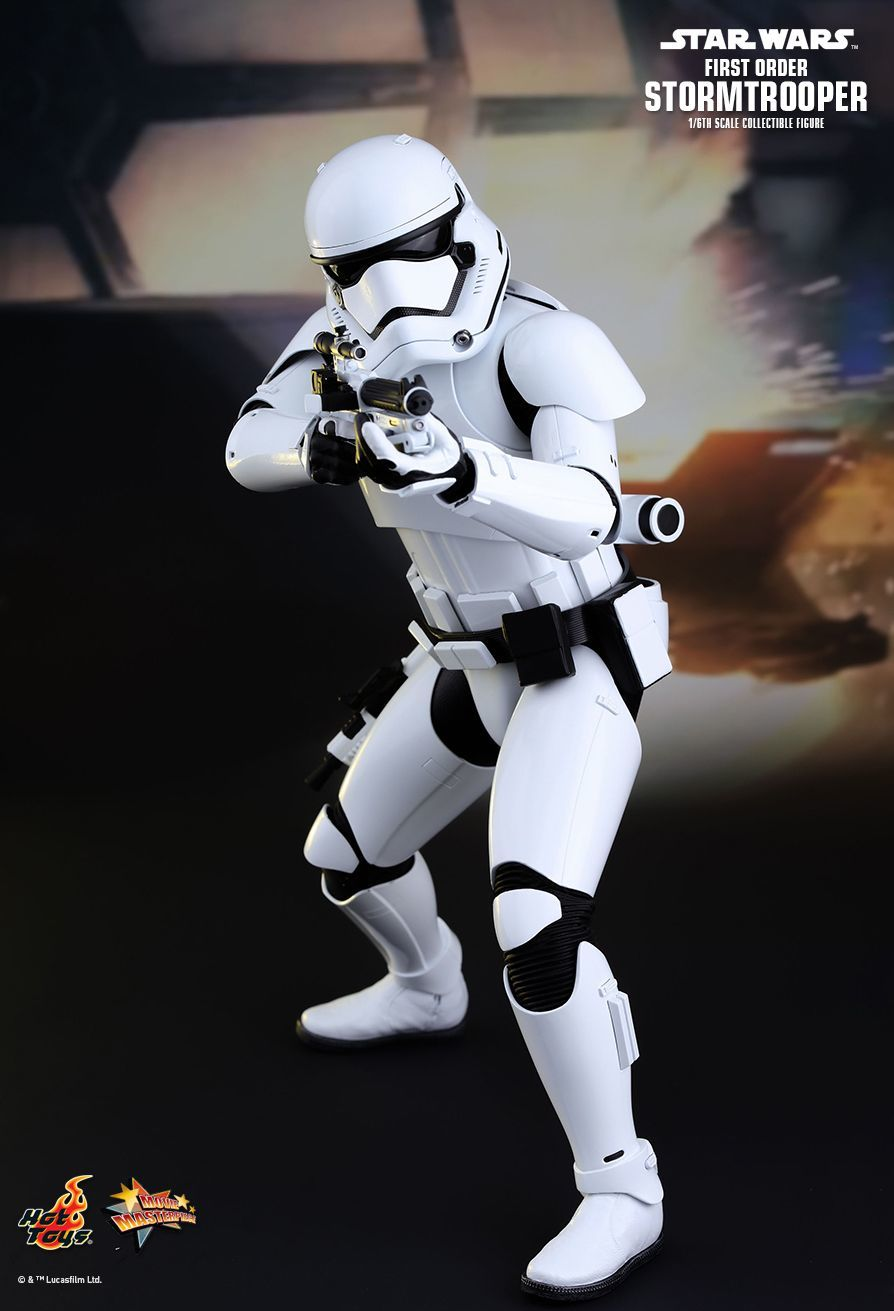 "Star Wars: The Force Awakens - 12"" First Order Stormtrooper Figure image"